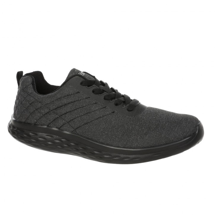 Lucca Lace up m black/black 44 MBT Running