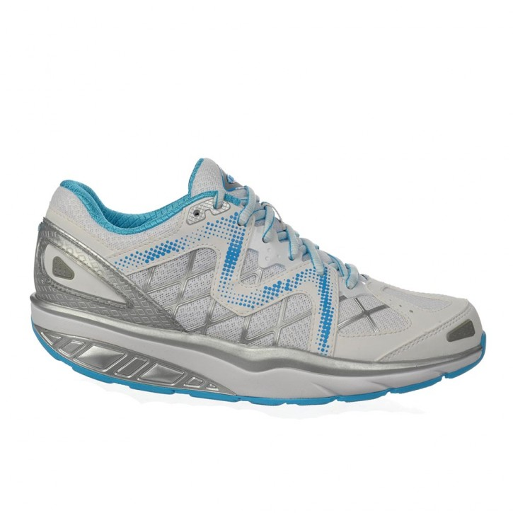 Afiya 6 white/silver/blue pop 40 MBT Schuhe