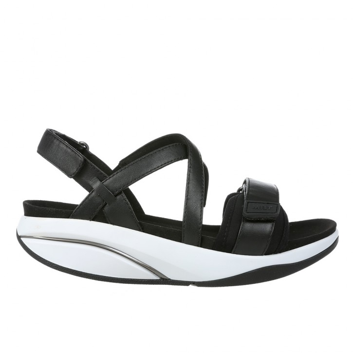 Chantel W black nappa 38 MBT Sandalen