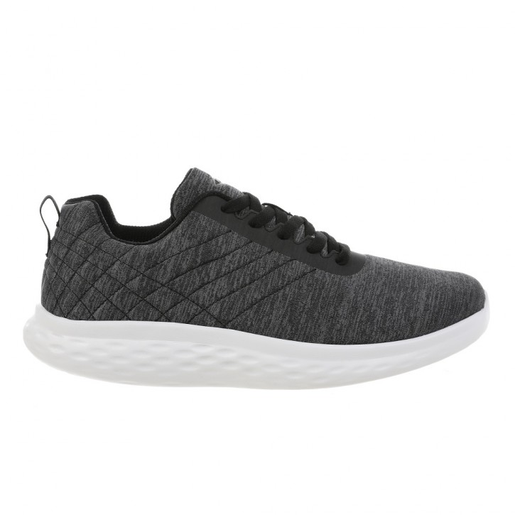 Lucca Lace up m dk grey 44.5 MBT Running