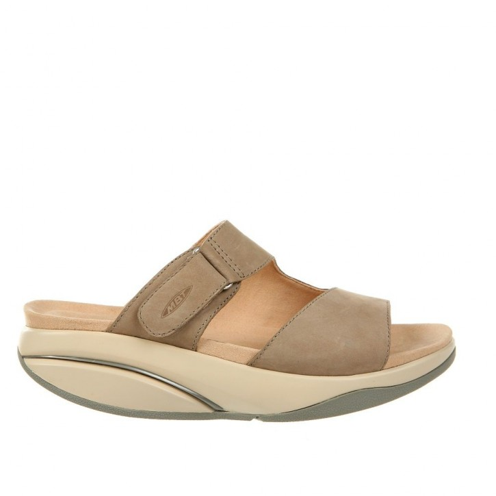 Tabia W Taupe Gray MBT Sandalen