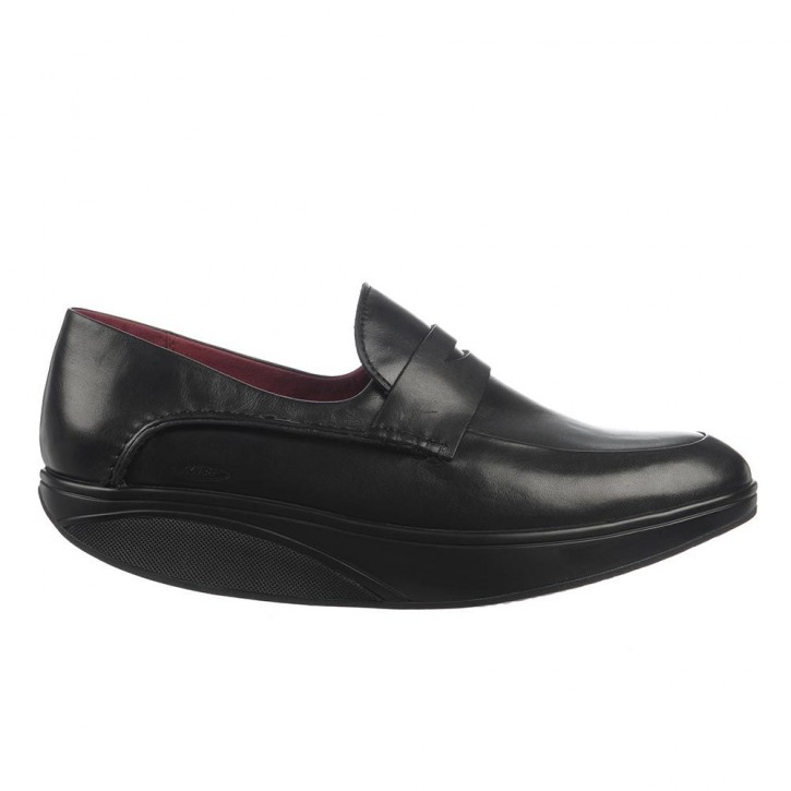 Asante 5 Slip On black nappa 43