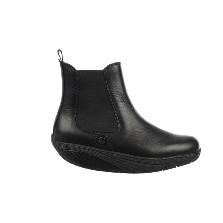 Asha Chelsea Boot black calf