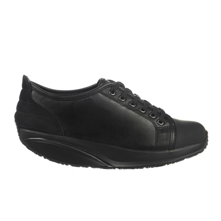 Batini Lace Up black nappa