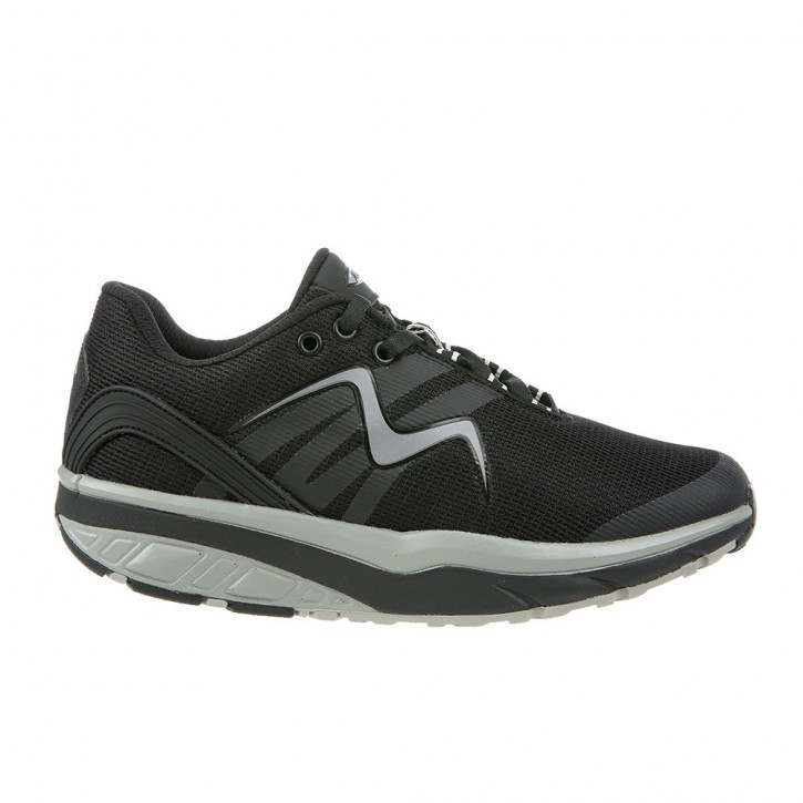 Leasha 17 W black/silver/steel 37 MBT Schuhe