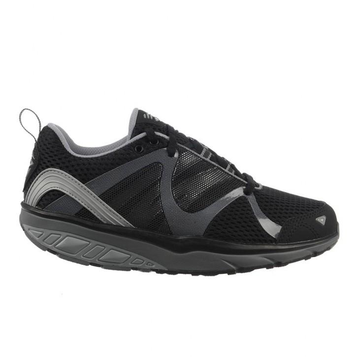 Leasha Trail Lace Up black/steel/silver 37
