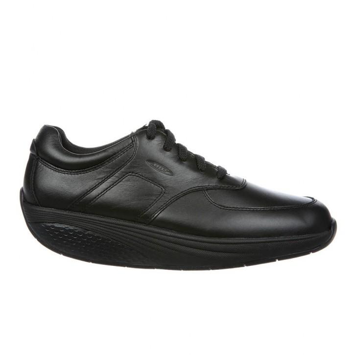 Reem 6 W Lace up black