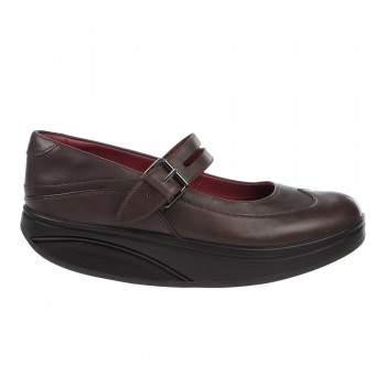 Kesho MJ 2 black coffee 38 MBT Ballerinas