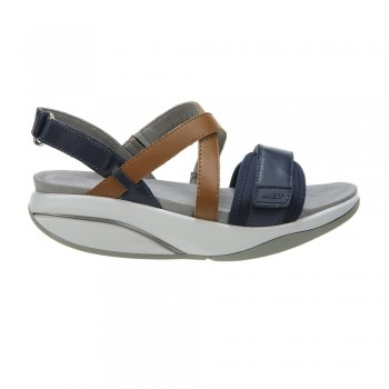 Chantel W navy/mid brown MBT-Sandale