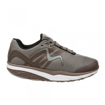 Leasha Trail Lace Up lt.chocolate/silver