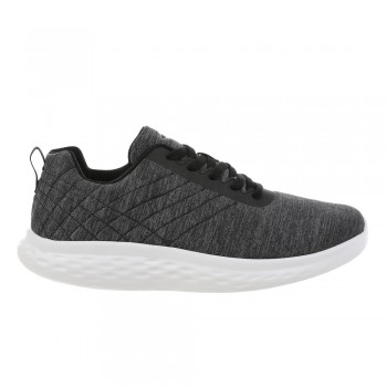 Lucca Lace up m dk grey MBT Running