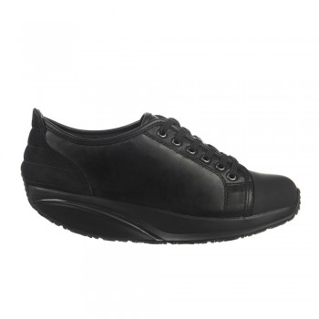 Batini Lace Up black nappa 37
