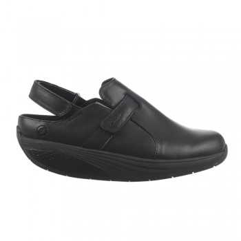 Flua unisex black MBT Clogs