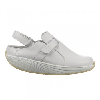 Flua unisex white 40 MBT Clogs