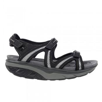 Lila 6 Sport Sandal black/charcoal grey MBT Sandalen