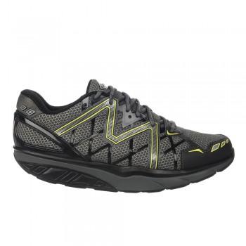 Simba 6 black/volcano gray/yellow lime MBT Schuhe