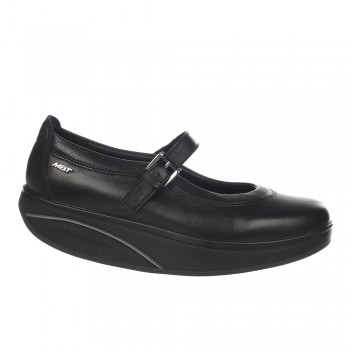 Tosha 6 Mj black nappa MBT Ballerinas