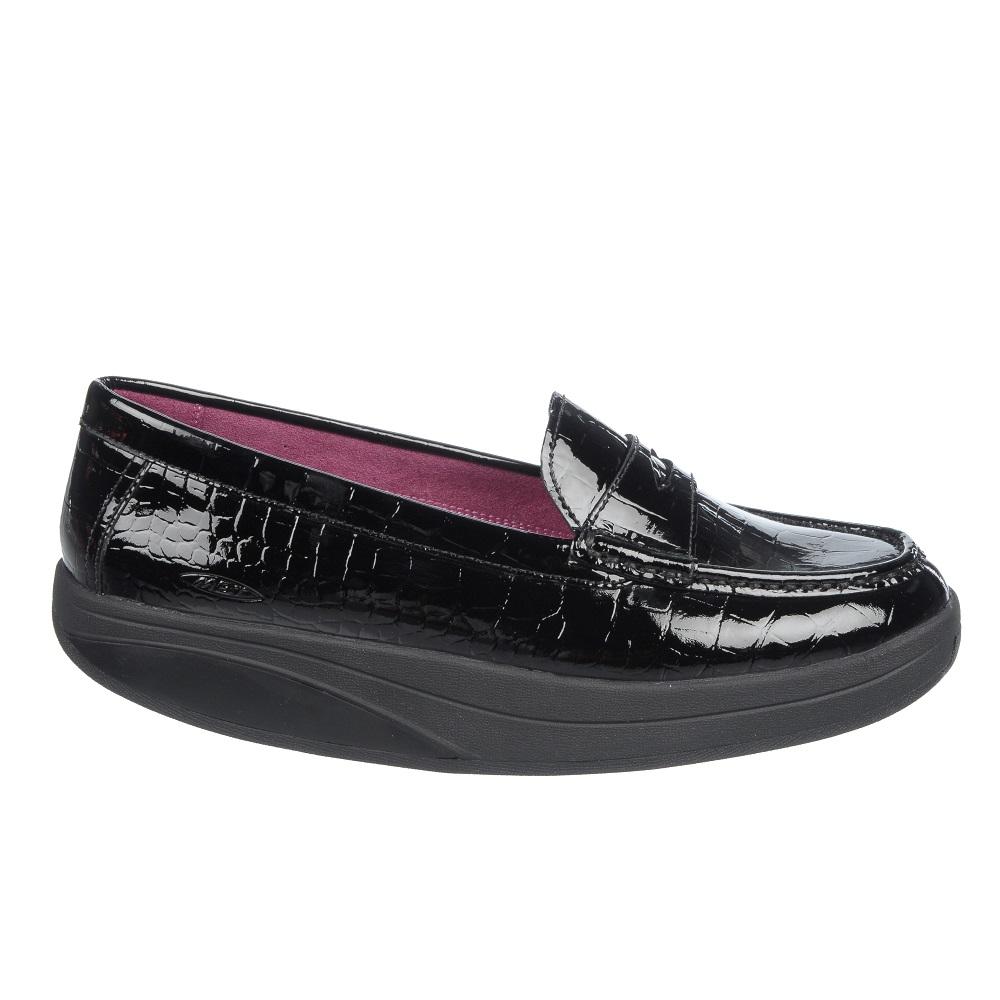 shani luxe penny loafer black patent mbt ballerinas. Black Bedroom Furniture Sets. Home Design Ideas