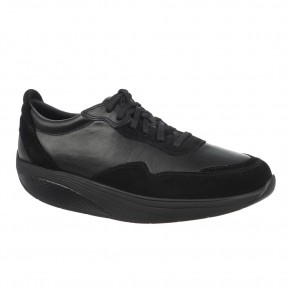 Azizi Walk Lite Lace Up black calf