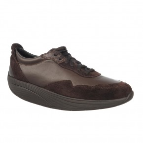 Azizi Walk Lite Lace Up coffee bean MBT Schuhe