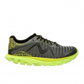 Racer M silver gray & lime 45 MBT Running