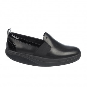 Shani Luxe Slip On Black MBT Ballerina