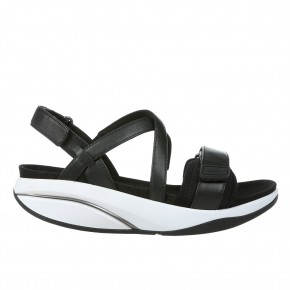 Chantel W black nappa MBT Sandalen
