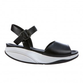 Kizzy W Sandal Black Nappa 40 MBT Sandale