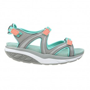 Lila 6 Sport Sandal grey/ teal/ peach 42