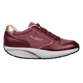MBT 1997 W - Burgundy/Rose Gold MBT Schuhe
