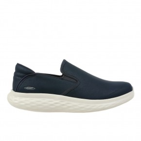 Modena Slip On M Leather Antique Blue MBT Schuhe