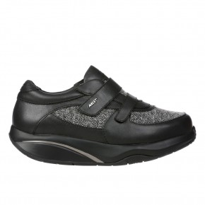 Patia W black nappa MBT Schuhe