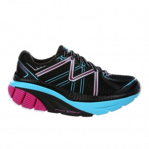 Zee 16 W black/fuschia/powder blue MBT Running