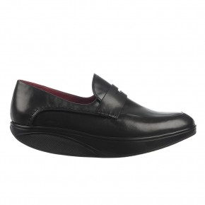 Asante 5 Slip On black nappa