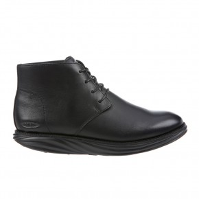 Cambridge Mid Cut M black nappa 47