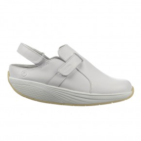 Flua unisex white MBT Clogs