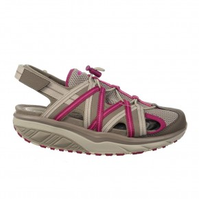 Jasira 6 Trail Sandal clay gray/red violet 42 MBT Sandalen