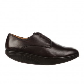 Balozi Dress Luxe Plain Toe Oxford black coffee