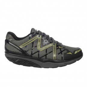 Simba 6 black/volcano gray/yellow lime MBT Schuhe